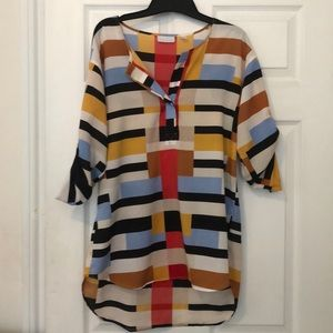 Color block top!